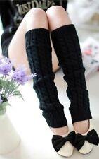 Fashion Women's Winter Leg Warmers For Women Gaiters Knit Warm Boot Cuffs Socks
