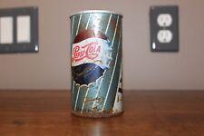 Vintage 1960's Steel aluminum Pepsi Cola soda pop can pull tab bottle cap logo