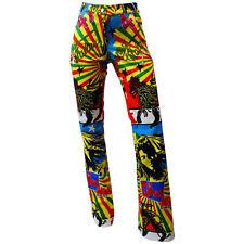 CHRISTIAN DIOR by JOHN GALLIANO Rastafari Marley Logo Jeans Trousers - RARE!
