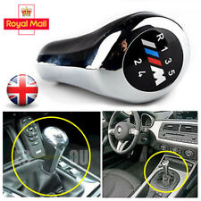 5 Speed for BMW M Sport Gear Knob Shift Chrome Z3 E46 E90 E91 E92 E93 E39 E61