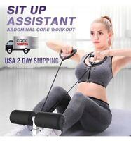 Elastic Band + Sit-Up Bar Ab Core Workout weight loss Training Assist Rope