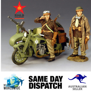 King & Country FOB045 French Motorcycle Combo MIB Retired