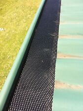 5m BLACK Gutter Guard - DIY Aluminium Leaf Mesh - Free Delivery Australia Wide