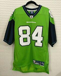 Rare Seattle Seahawks TJ Houshmandzadeh  #84 Reebok Jersey with Stitching Medium