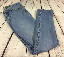 Aeropostale Bayla Skinny Women's Size 7/8 R Light Wash Denim Low Rise Jeans  D22