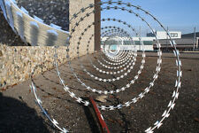 Natodraht D 45cm 10-15m (50m) Stacheldraht Klingendraht Sicherheit Objektschutz