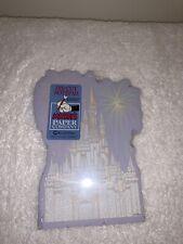 New Walt Disney Mickey's Paper Company Notepad 100 Sheets Cinderella Castle