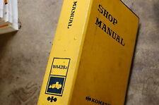 KOMATSU WA420-1 Front End Wheel Loader Service Repair Manual book shop overhaul