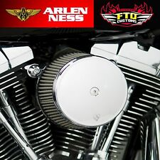 Arlen Ness Chrome Stage 1 Big Sucker Air Filter Kit w/ Cover 99-16 Harley 50-331