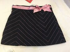 Gymboree Chelsea Girl Navy Pinstripe Skort New Size 3
