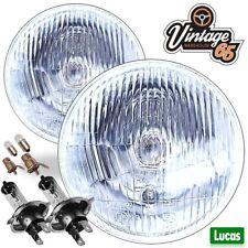Vw Beetle USA Import Genuine Lucas Sealed Beam Halogen Conversion Headlights 1