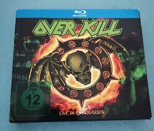 OVERKILL LIVE IN OVERHAUSEN !!!BLU-RAY & 2CDs!!!TOP!!!
