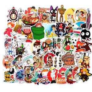 Hayao Miyazaki / Studio Ghibli 50pc Sticker Set -Custom Creation