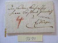Bayern Vorphila 1796 En... schöner gesiegelter Brief mit Text (22849)