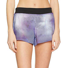 Reebok Womens 3 IN Woven Running Sports Gym Fitness Training Shorts Pants - XS