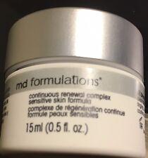 MD Formulations Continuous Renewal Complex Sensitive Skin Formula 0.5 oz NO BOX