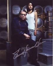 GRACE PARK & EDWARD JAMES OLMOS signed autographed BATTLESTAR GALACTICA photo