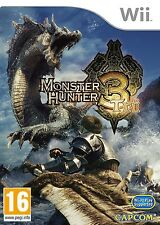 Monster Hunter Tri (Nintendo Wii) NEW & Sealed - Despatched from UK