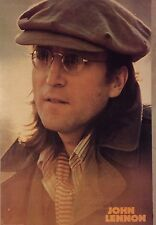 JOHN LENNON VINTAGE UK IMPORT POSTER 24X36 VERY RARE ONLY ONE LISTED N/MINT