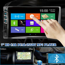 """New listing 2 Din 7"""" Android Car Mp5 Mp3 Player Usb Fm Bluetooth Touch Screen Stereo Radio"""