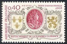 France 1968 Coat-of-Arms/Louis XIV/Treaty/Royal/People/History 1v (n43606)