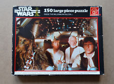 1977 Star Wars Vintage Jigsaw Puzzle Waddingtons #179 SIGNED by ADMIRAL ACKBAR!!