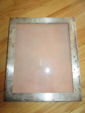 "CL/SHREVE STERLING SILVER PICTURE FRAME/OLD/11.5"" HIGH X 9.6"" WIDE/950 STERLING!"