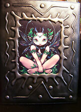 BRAND NEW! ALURA FAERIE PADDED FAUX LEATHER SKETCHBOOK OUT OF PRINT!!
