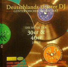 CD GÜNTER CHIU - germania il più antico dj, die musica der anni '30 & 40s anni