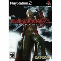 Devil May Cry 3 | Sony PlayStation 2 PS2 Game | Complete CIB w/ Manual | Tested