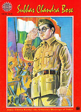 SUBHAS CHANDRA BOSE - AMAR CHITRA KATHA - GREAT INDIAN FREEDOM FIGHTER