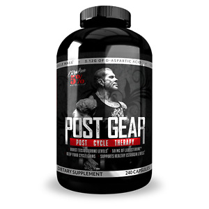 5% Nutrition POST GEAR Post Cycle Therapy 240 caps TEST BOOSTER
