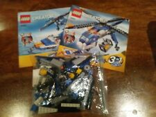 LEGO CREATOR 3 IN 1 SET #4995 CARGO COPTER POWER FUNCTIONS 100% RETIRED MANUALS