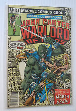 John Carter Warlord of Mars #13 (Marvel 6/78) FN- 'March of the Dead!'