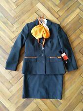 More details for  easyjet vintage airlines cabin crew stewardess uniform set uk size 12
