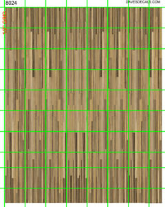 8024 DAVE'S DETAILS GLOSSY ART PAPER DARKER HARDWOOD LOOKING FLOORING 4X5 SET