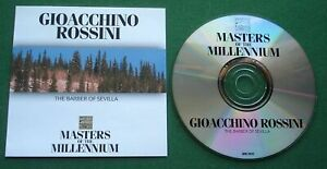 Rossini Selections From Barber Of Seville / William Tell / Thieving Magpie + CD