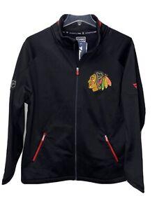 Fanatics Authentic Pro Mens Chicago Blackhawks Midweight Long Sleeve Jacket XL