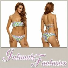 Unbranded Bandeau Polyamide Swimwear Bikini Sets for Women