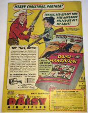 1949 Daisy BB Gun ad page ~ RED RYDER ~ MERRY CHRISTMAS!