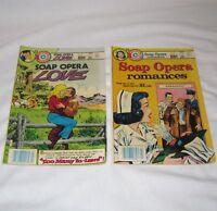 Charlton Soap Opera Love 2 / Soap Opera Romances 5 1983 Lot of 2 Comic Books
