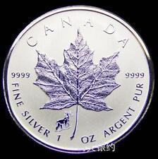 Canada 2015 Goat Maple Leaf (Privy) Silver .999 1oz Coin (UNC)