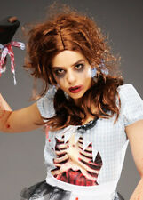 Womens Halloween Brown Zombie Dorothy Wig