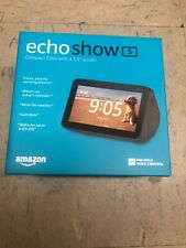 Amazon Echo Show 5 - Charcoal BRAND NEW FACTORY SEALED