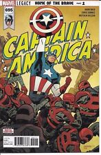 Marvel Comics Captain America #695 1St Print W/ Iron Man Value Stamp