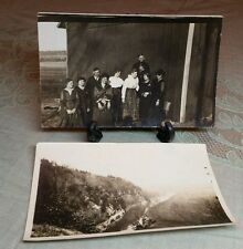 RPPC March 17 1918 Kienberger Family Long Prairie MN Minnesota river photo