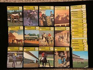 1977-79 Sportscaster Horse Racing singles - Choose from list - Nrmt/Nrmt+