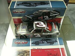 RARE! 2012 1989 DALE EARNHARDT GOODWRENCH LUMINA BRUSHED METAL CHILDRESS 1/ 189