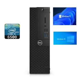 Dell OptiPlex 3050 SSF Intel i5-6500  @3.20GHz Windows 11 or 10 Solid state