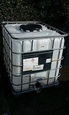IBC Container WITH WOODEN BASE 1000 Litre IBC Container. Water oil tank